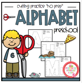 Alphabet Cutting Practice