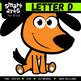 Alphabet D Clip Art