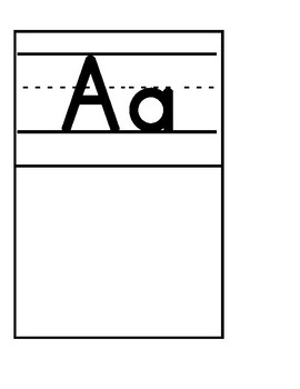 Alphabet DIY a-j