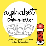 Alphabet Dab - A - Letter Fine Motor Fun!