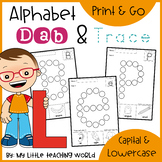 Alphabet Dab & Trace Worksheets Set