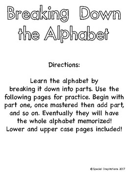 Alphabet Dauber Activities