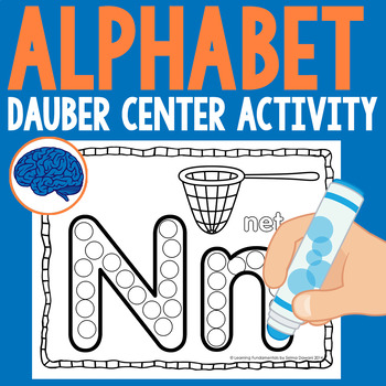 Alphabet Dauber : Capital & Lowercase Dab-a-Dot Practice