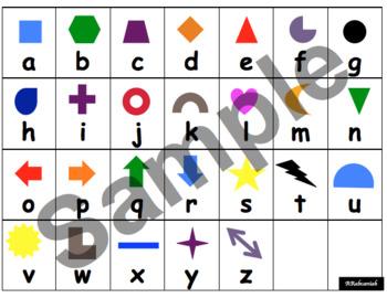 Alphabet De-Coding Activities