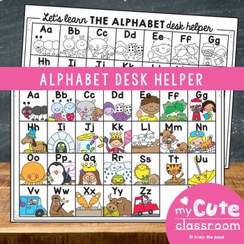 Alphabet Desk Helper