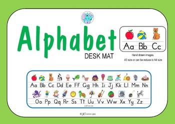 Alphabet Desk Mat