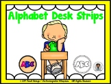 Alphabet Desk Strips
