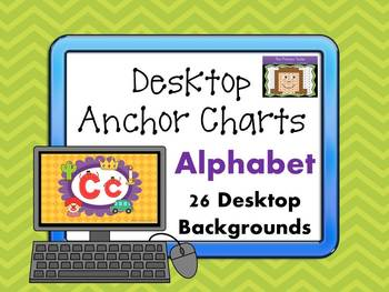 Alphabet Desktop Anchor Charts
