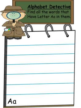 Alphabet Detectives
