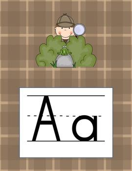 Alphabet Detective / Mystery Theme