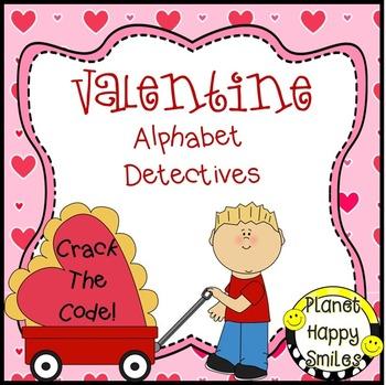 Alphabet Detectives ~ Valentine Crack the Code