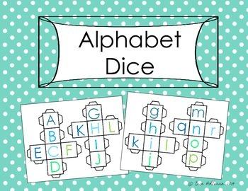 Alphabet Dice