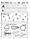 Alphabet Dictionary and Activity Book