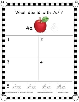 Alphabet Dictionary Kit (OG)