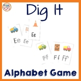 Letter Recognition Game Dig It