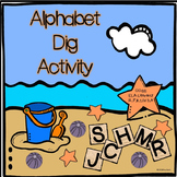 Alphabet Dig: Letter and Initial Sound Recognition Activity