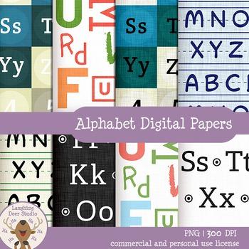 Alphabet Digital Papers