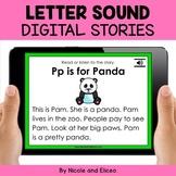Alphabet Digital Phonics Stories for Google Classroom - Di