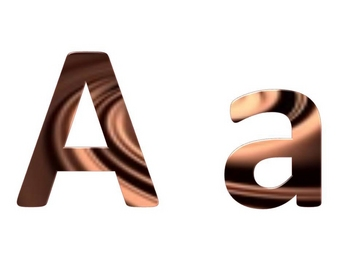 Alphabet & Digits for Bulletin Boards & TPT Products -Chocolate Swirl