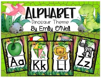 Alphabet (Dinosaur Theme)