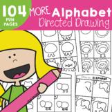 Alphabet Directed Drawing Activities - 'More Alphabet Dire