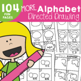 Alphabet Directed Drawing Activities - 'More Alphabet Dire