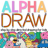 Alphabet Directed Drawing Bundle - 53 included   Distance