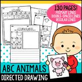 Alphabet Directed Drawing - ABC Animals