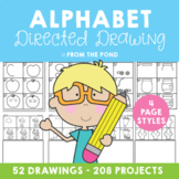 Alphabet Directed Drawing Activities