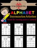 Alphabet Discrimination Activities