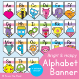 Alphabet Display - Bright Alphabet Banner