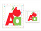 Alphabet Display Cards & Editable Word Wall Cards