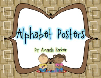 Alphabet Display Posters