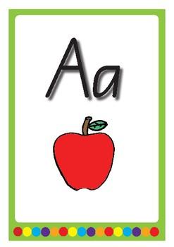 Alphabet Displays