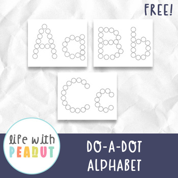 Alphabet Do A Dot Markers