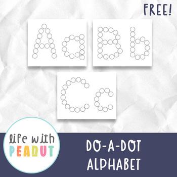 Alphabet Do A Dot Markers