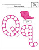Alphabet Do-A-Dot Letter Activity Set {COLOR}