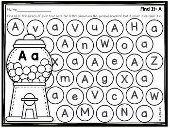 Alphabet Do A Dot Pages