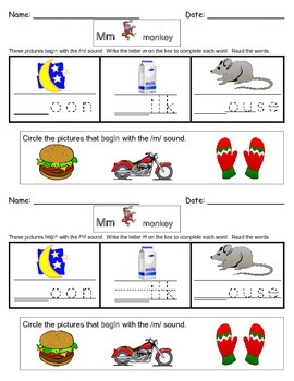 Alphabet Do Nows/Review Worksheets!
