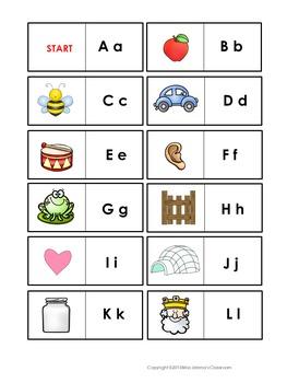 Alphabet Domino Game