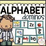ALPHABET DOMINOS LITERACY CENTER