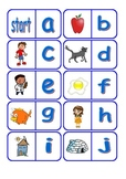 Alphabet Dominoes for Literacy Centers