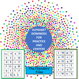Alphabet Dominoes for Practice and Centers
