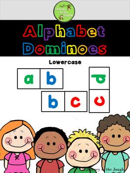 Alphabet Dominoes (lowercase)