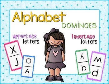 Alphabet Dominos - Uppercase  & Lowercase