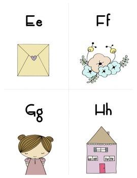 Alphabet Doodle Flashcards