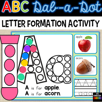 Alphabet Dot - ABC Dab a Dot