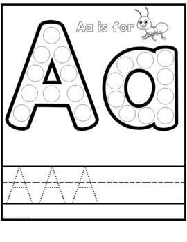 Alphabet Dot Marker Worksheet