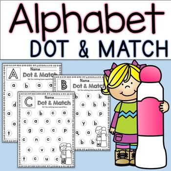 Alphabet Dot & Match