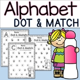 Alphabet Dot & Match Lowercase and Capital Letter Practice